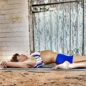 Supta Virasana or Sleeping Hero Pose