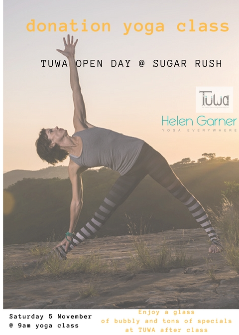 TUWA Open Day Saturday 5 November